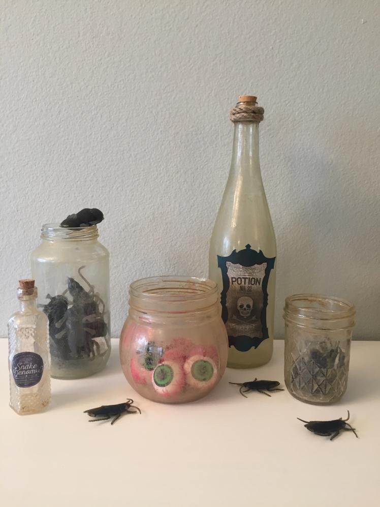 DIY Dusty Bottles